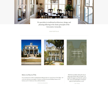 Architecture Firm Website 1