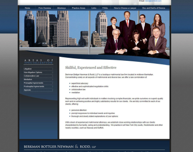 Law Firm Website Design 10