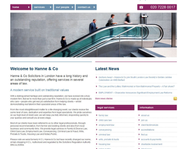 Law Firm Website Design 3