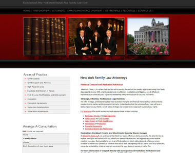 Law Firm Website Design 6