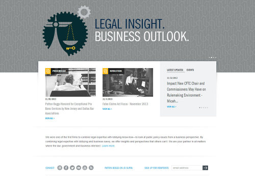 Law Firm Website Design 2