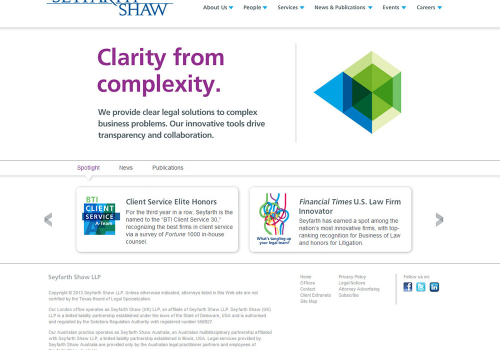 Law Firm Website Design 7