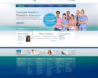 Medical Website Design Concept 2