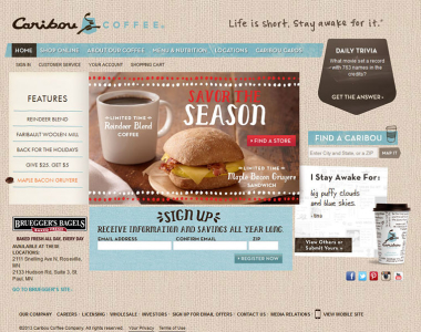 Restaurant Website Design 3